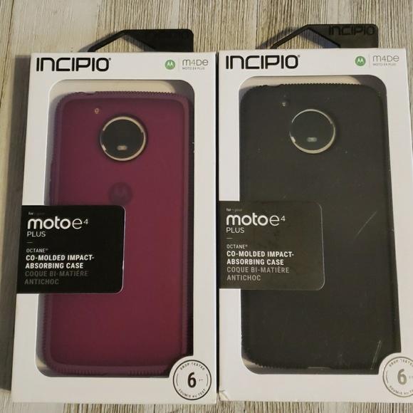 the latest c6f91 e7788 Lot of 2 Moto E4 Plus Cell Phone Cases